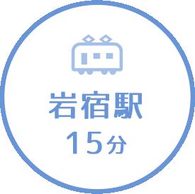 岩宿駅15分