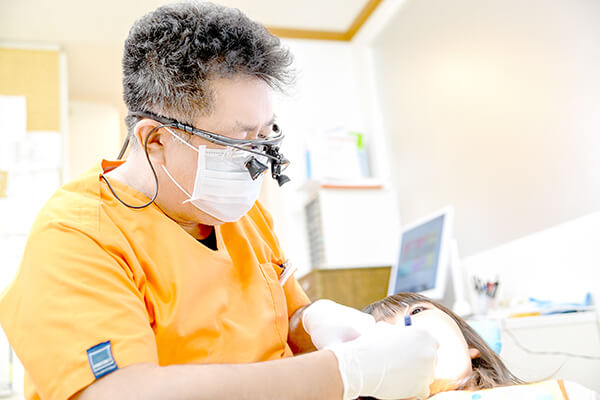 虫歯のリスクを軽減